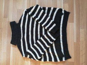 C&A Wollen trui wit-zwart