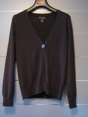 Banana Republic Heritage  Cardigan brown-dark brown silk