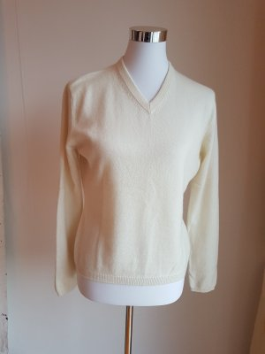 Pullover cashmere Gr. 38 beige/creme