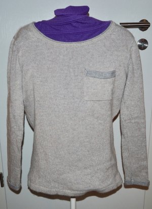 Cashmere Jumper beige-light grey
