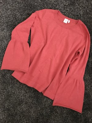 8 Sweater zalm-lichtrood