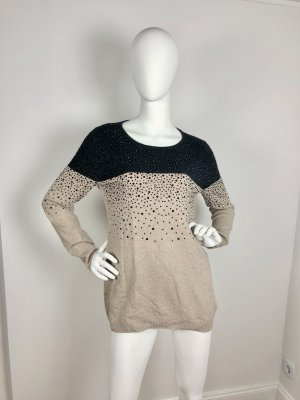 Clements Ribeiro Knitted Sweater beige-black