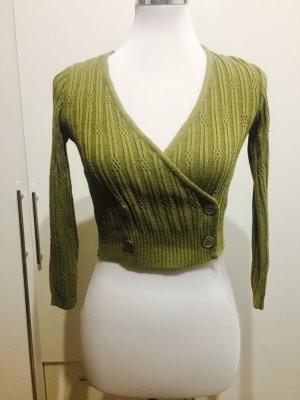 Pullover / Crop Top in Größe 36