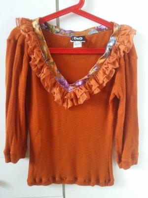 Pullover D & G orange