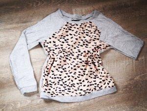 BlendShe Sweater roségoud-lichtgrijs