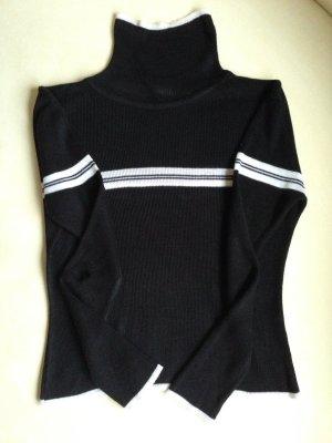 Pullover Damenmode schwarz/weiss Gr.36/38 neuwertig!