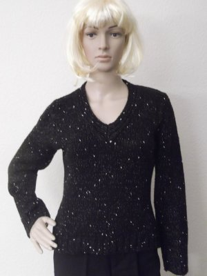 Burnetto V-Neck Sweater black
