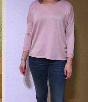 Esprit Kraagloze sweater roségoud