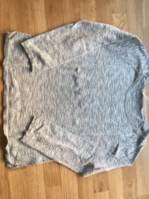 Pullover des Labels custommade, in silber/grau