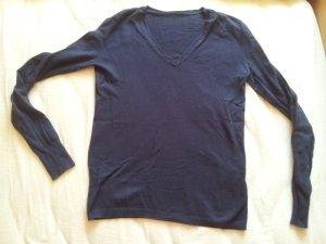 Pullover dünn dunkelblau Gr. M Benetton
