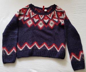 H&M Jersey de lana multicolor tejido mezclado