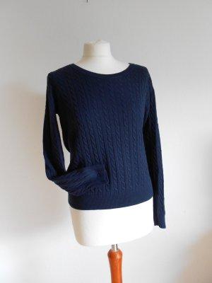 Pullover dunkelblau Größe M