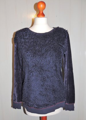Best Connections Crewneck Sweater dark blue mixture fibre