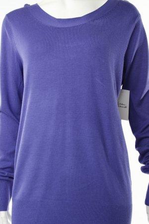 Pull violet foncé-violet