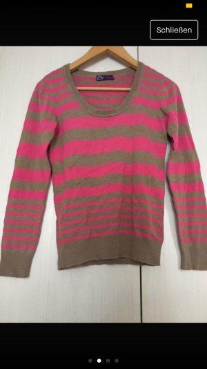 AJC Crewneck Sweater beige-pink