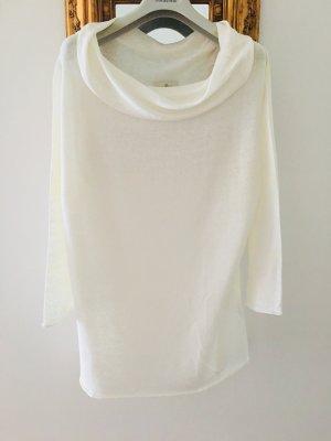 L'Officina della Moda Jersey largo blanco-blanco puro