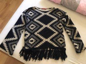 Pullover Esprit Ethno Look Fransen