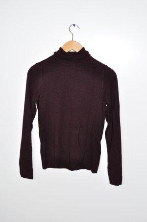 Pullover Esprit in Aubergine mit Strickmuster