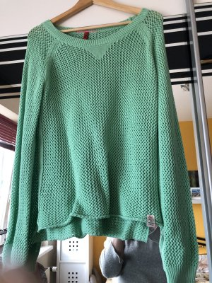 QS by s.Oliver Coarse Knitted Sweater multicolored