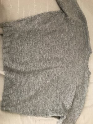 H&M Cable Sweater light grey