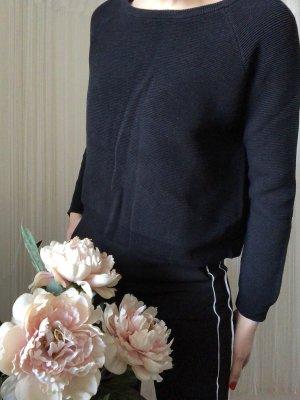 Mango Long Sweater black