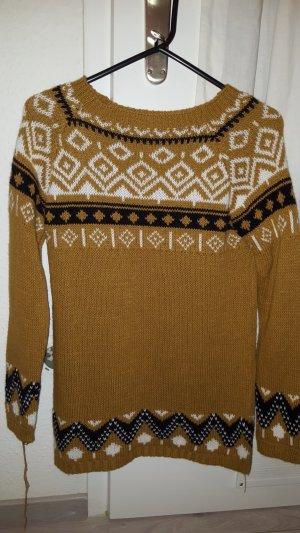 Abito maglione sabbia
