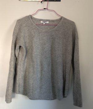 Pullover, Feinstrick, Grau, Größe S/36