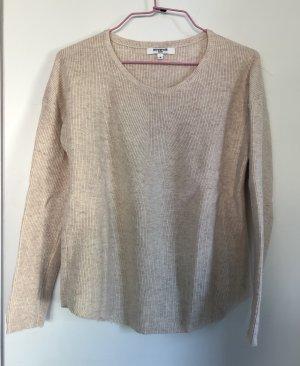 Pullover, Feinstrick, Größe S/36, beige