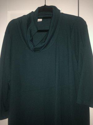 C&A Jersey de cuello alto verde oscuro