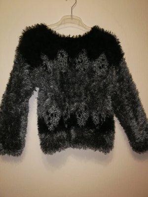 American Vintage Jersey negro-gris