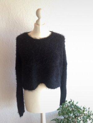 Asos Kraagloze sweater zwart