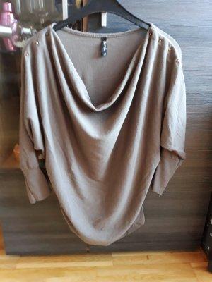 Forever 21 Maglione oversize marrone-grigio-beige
