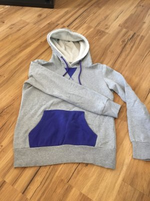 Twintip Jersey con capucha gris-violeta azulado