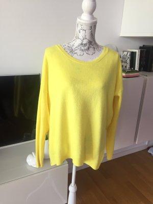 Pullover gelb Gr L wie neu