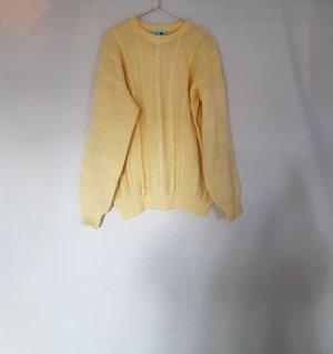 Pullover gelb von Lacoste gr. XL oversized Vintage