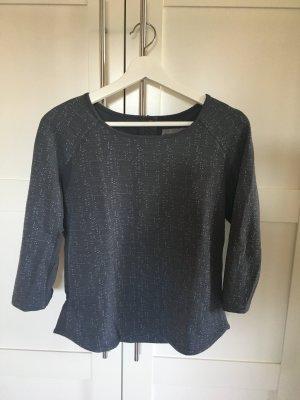 Pullover gemustert Vero Moda graublau Gr. XS