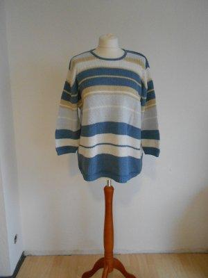 Pullover gestreift dreiviertelarm