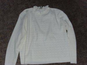Sweater wit Acryl
