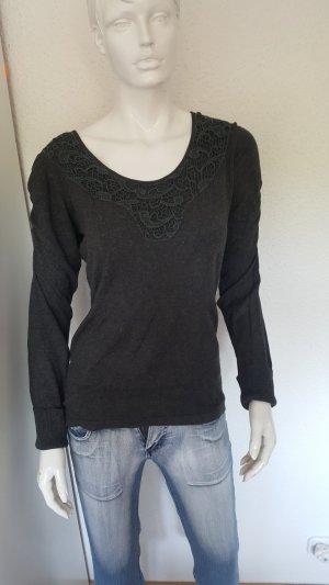 Zabaione Camicia maglia antracite