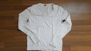 Esprit Kraagloze sweater wit