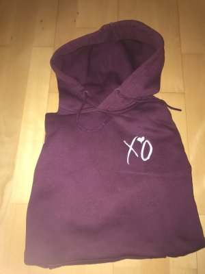 H&M Hooded Sweater bordeaux