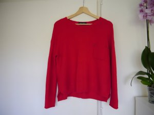 Pullover, Gr. S/M, Rot