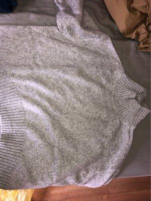 H&M Oversized trui lichtgrijs