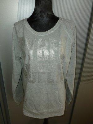 Crisca Crewneck Sweater light grey