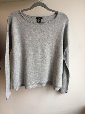 H&M Maglione grigio chiaro