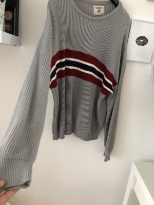 Pull & Bear Long Sweater multicolored