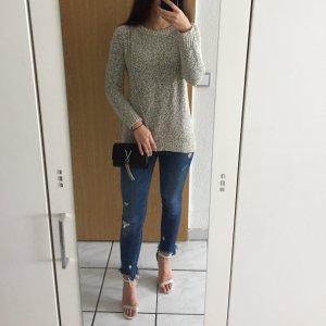 Pullover grau-meliert