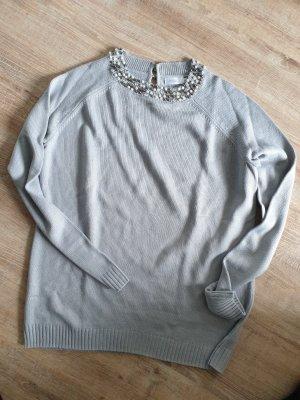 Lesara Coarse Knitted Sweater multicolored