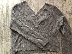 Pullover grau Nakd Größe S