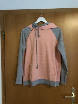 Pullover grau rosa